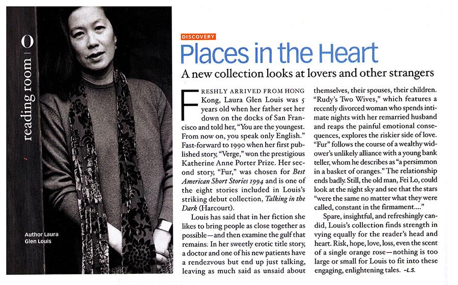 O Magazine 2001